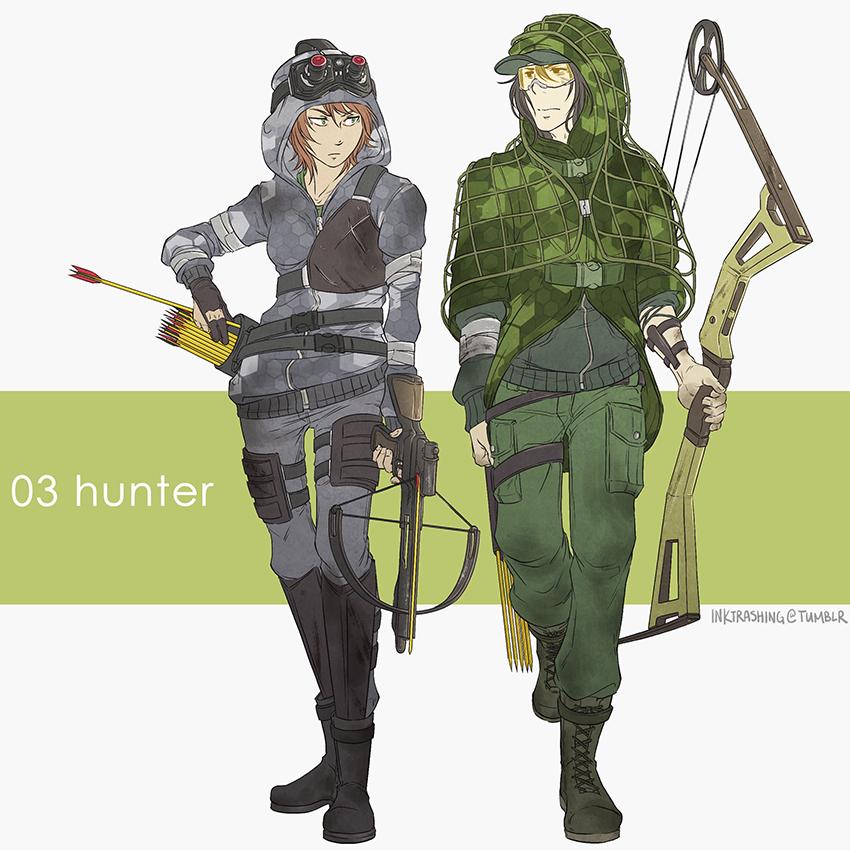 Character design  rpg classes post-apocalypse