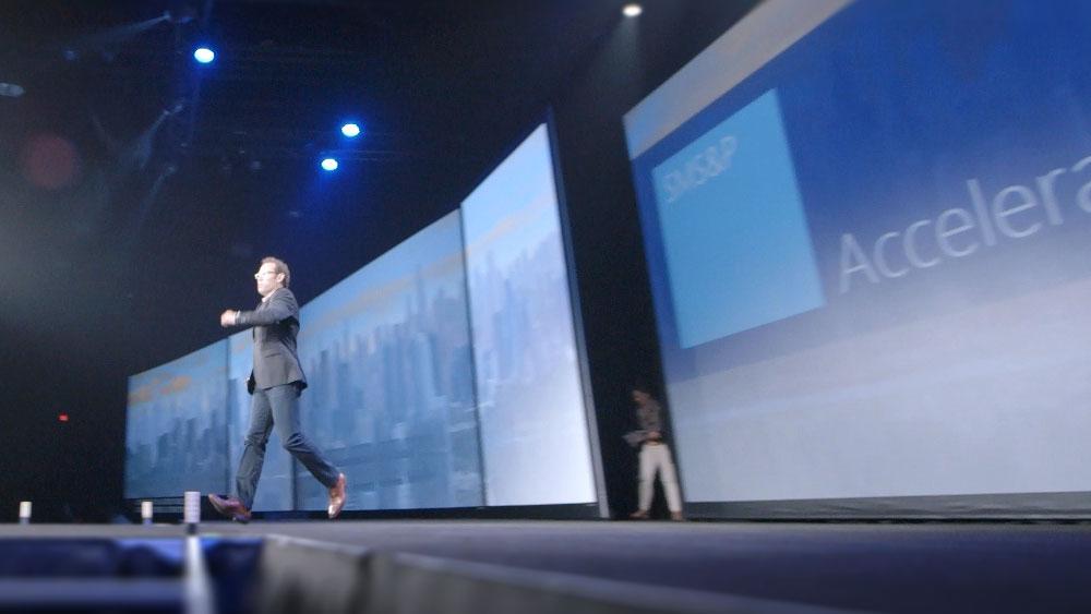 Keynote multi-screen speaker suport mgx