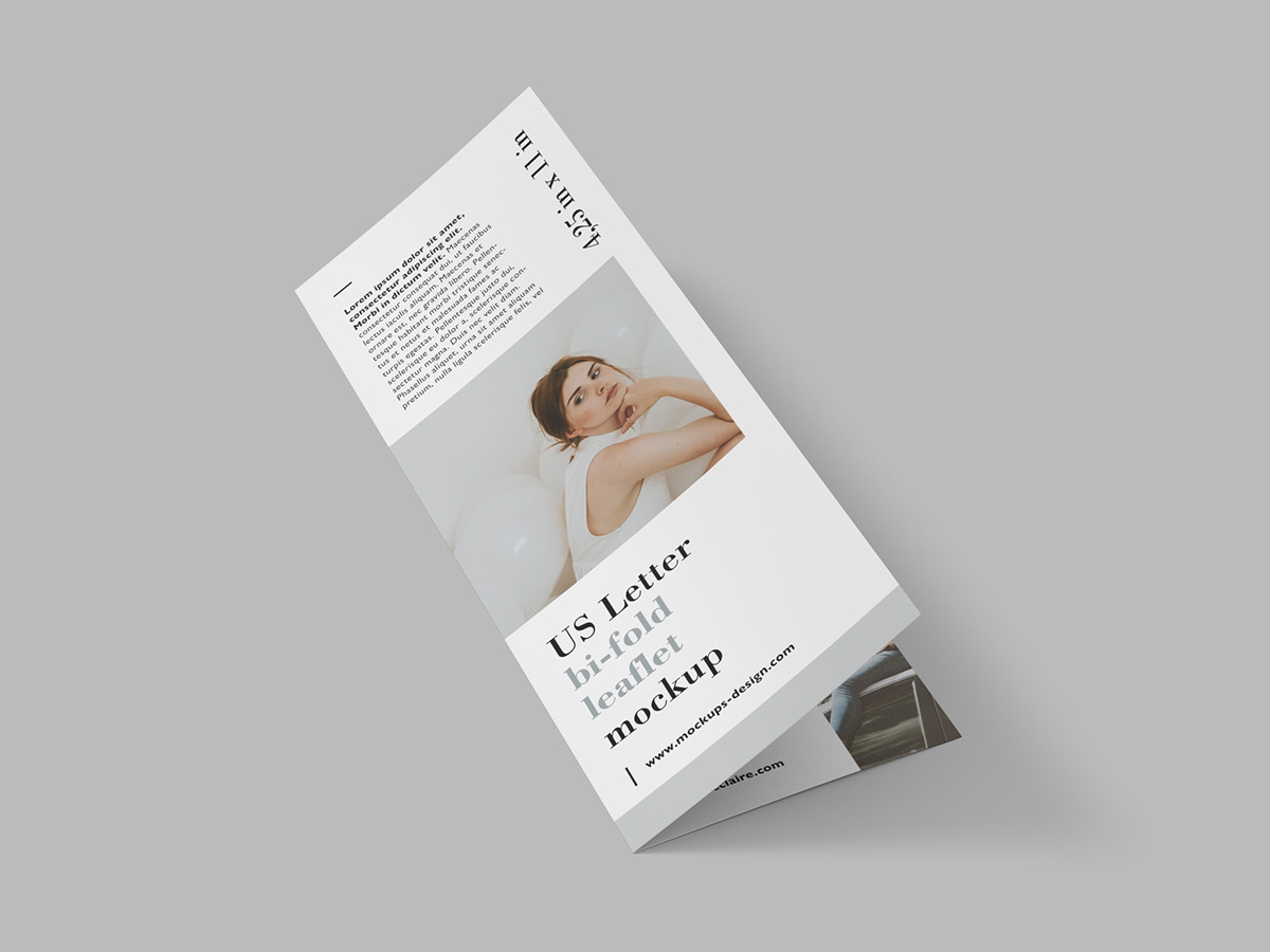 Free Us Letter BiFold Leaflet On Behance