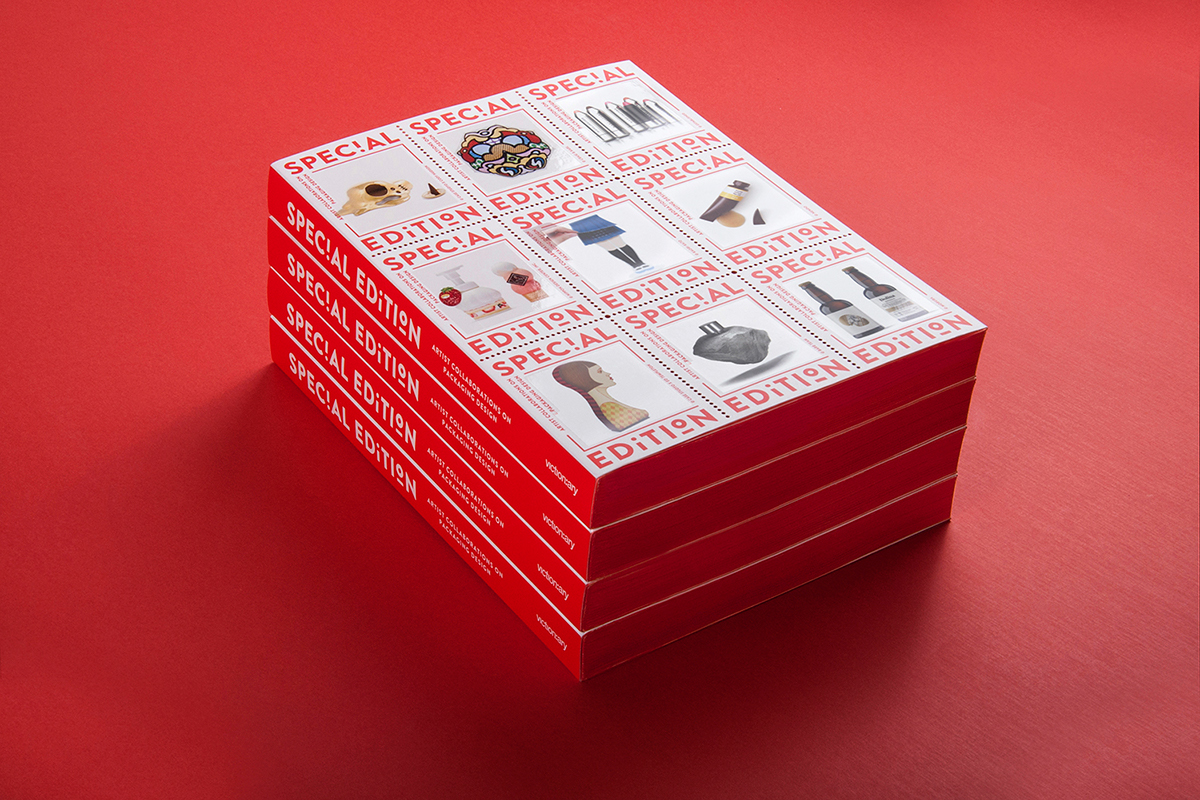 special edition book print red