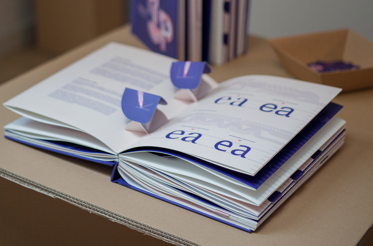 TYPOP-UP / Basic rules of typography / pop-up book on Behance