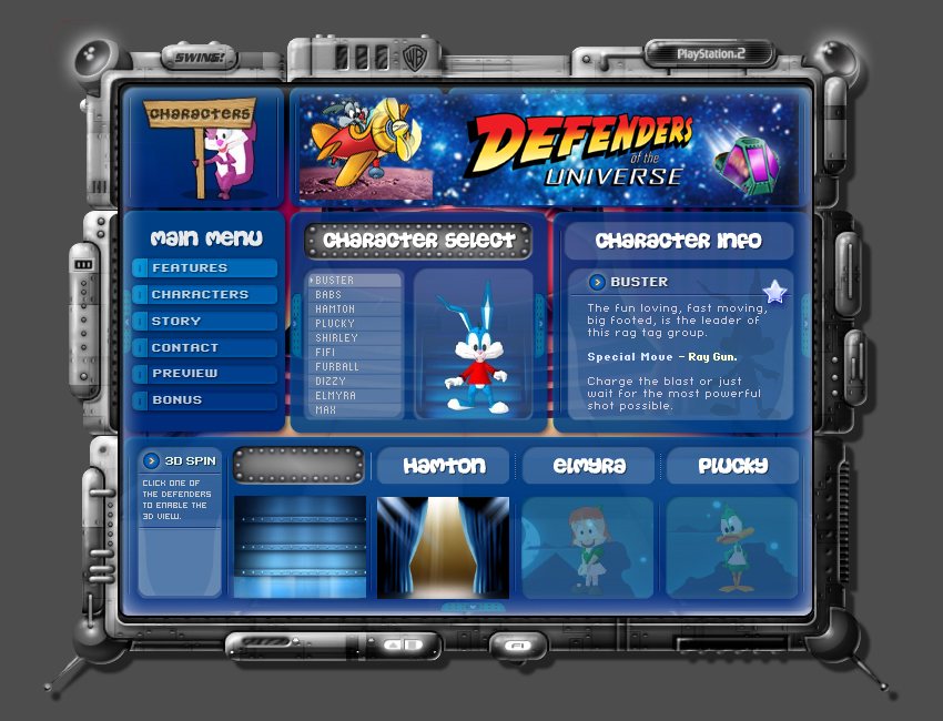 web sites interfaces information graphics xbox alienware road runner