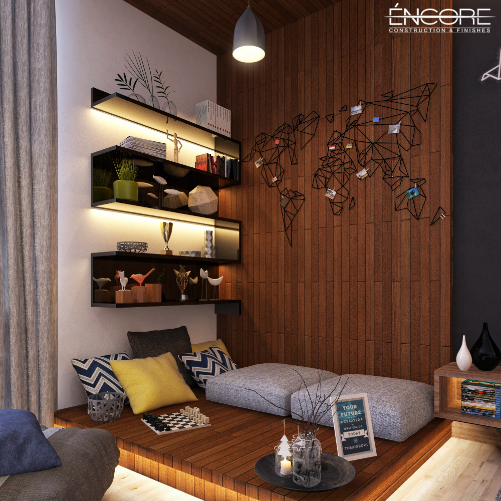 Bedroom In Contemporary Style On Behance: Contemporary Boy Bedroom On Behance