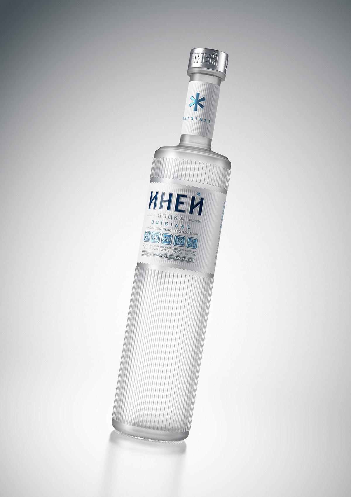 дизайн упаковка водка форма