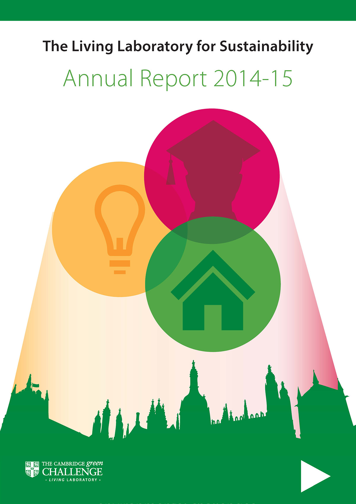 Annual Report Design living laboratory University of Cambridge environment Sustainability Interactive PDF