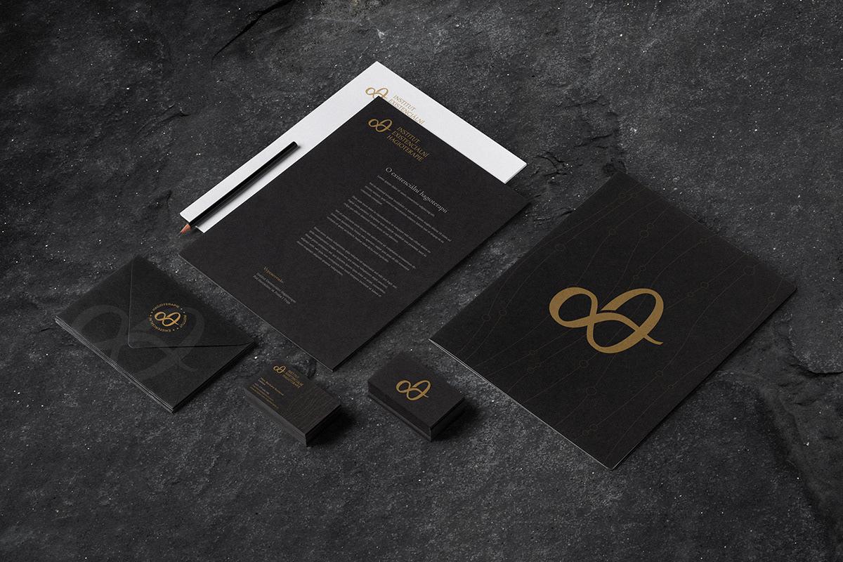 brand branding  design greek hagiotherapy logo portfolio religion