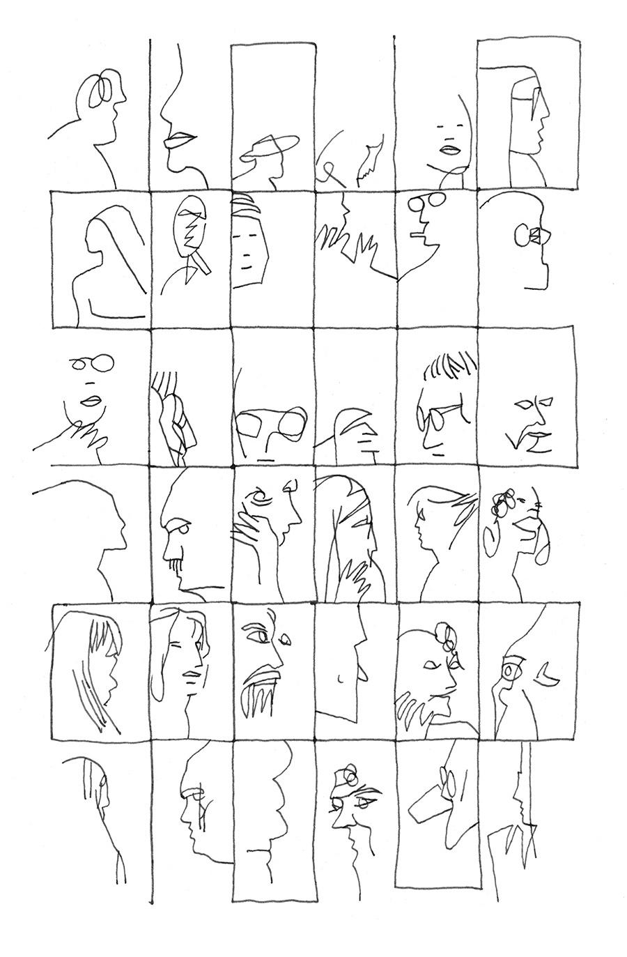 Image may contain: drawing, sketch and cartoon