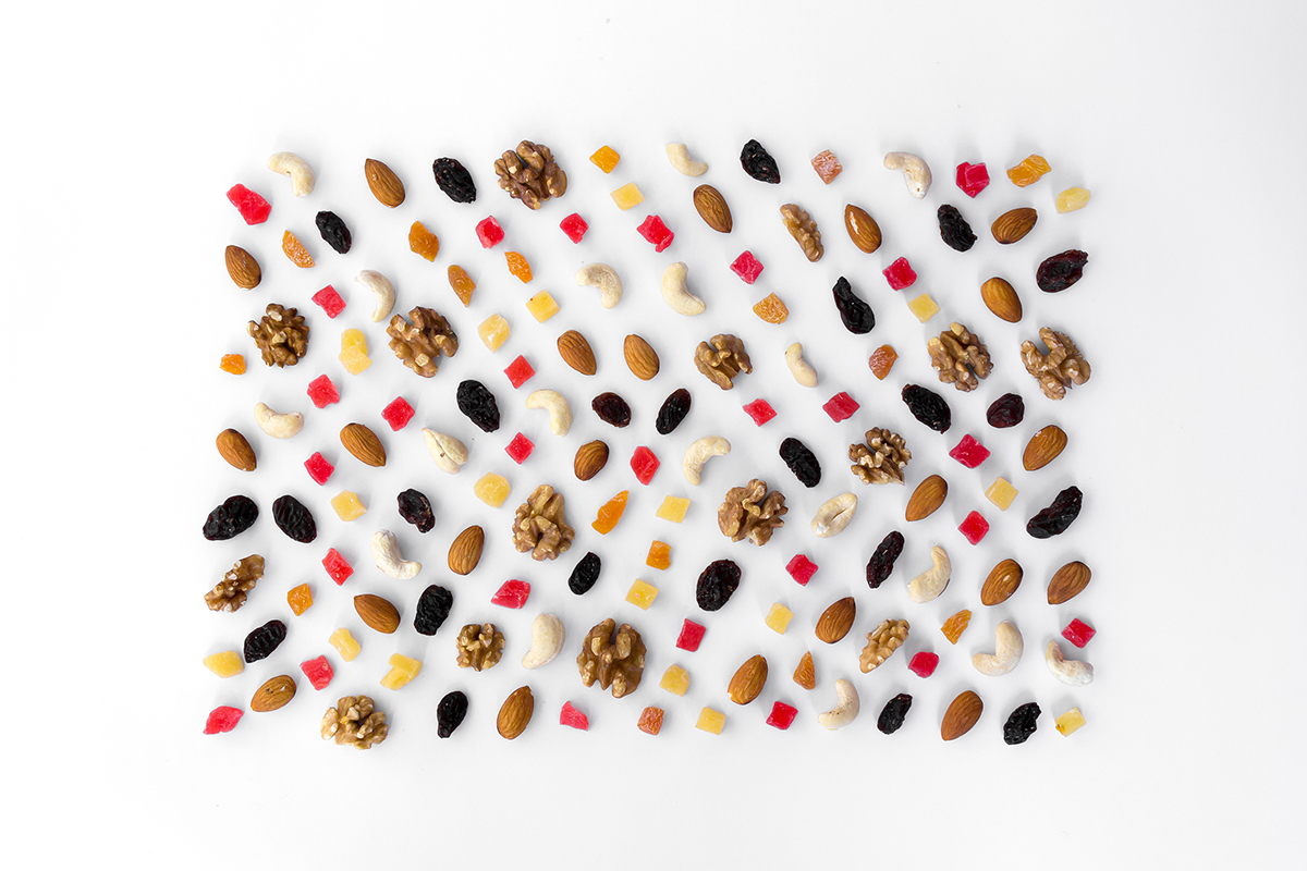 Food photography in graphical way on Behance