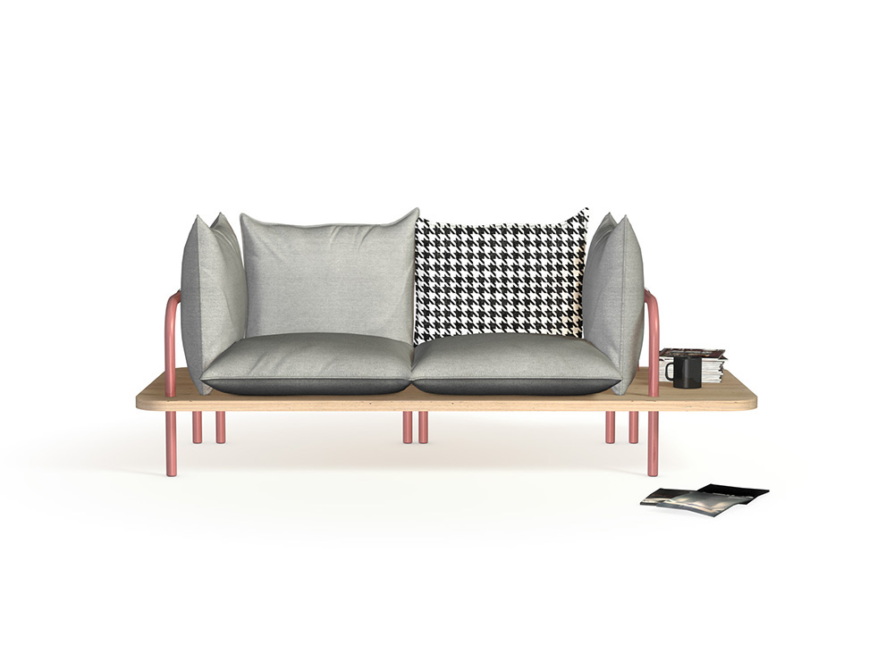 Clippa Sofa On Behance