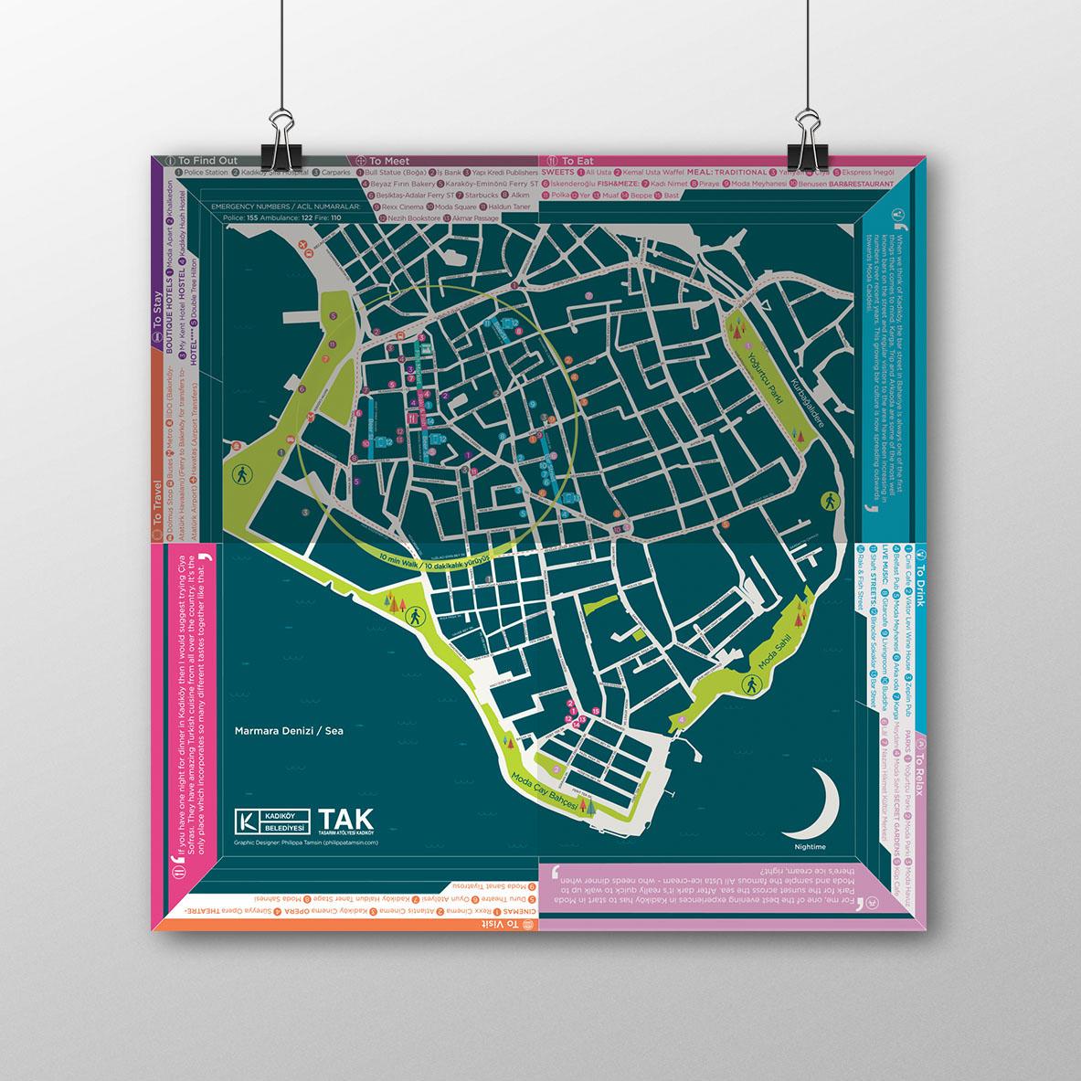Kadikoy Belediye Map on Behance