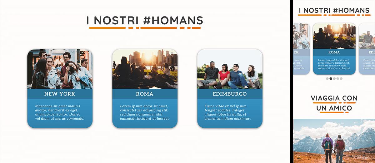 app design art direction  branding  tourism tourist Travel Travelling user interface design Web Design  Homanities