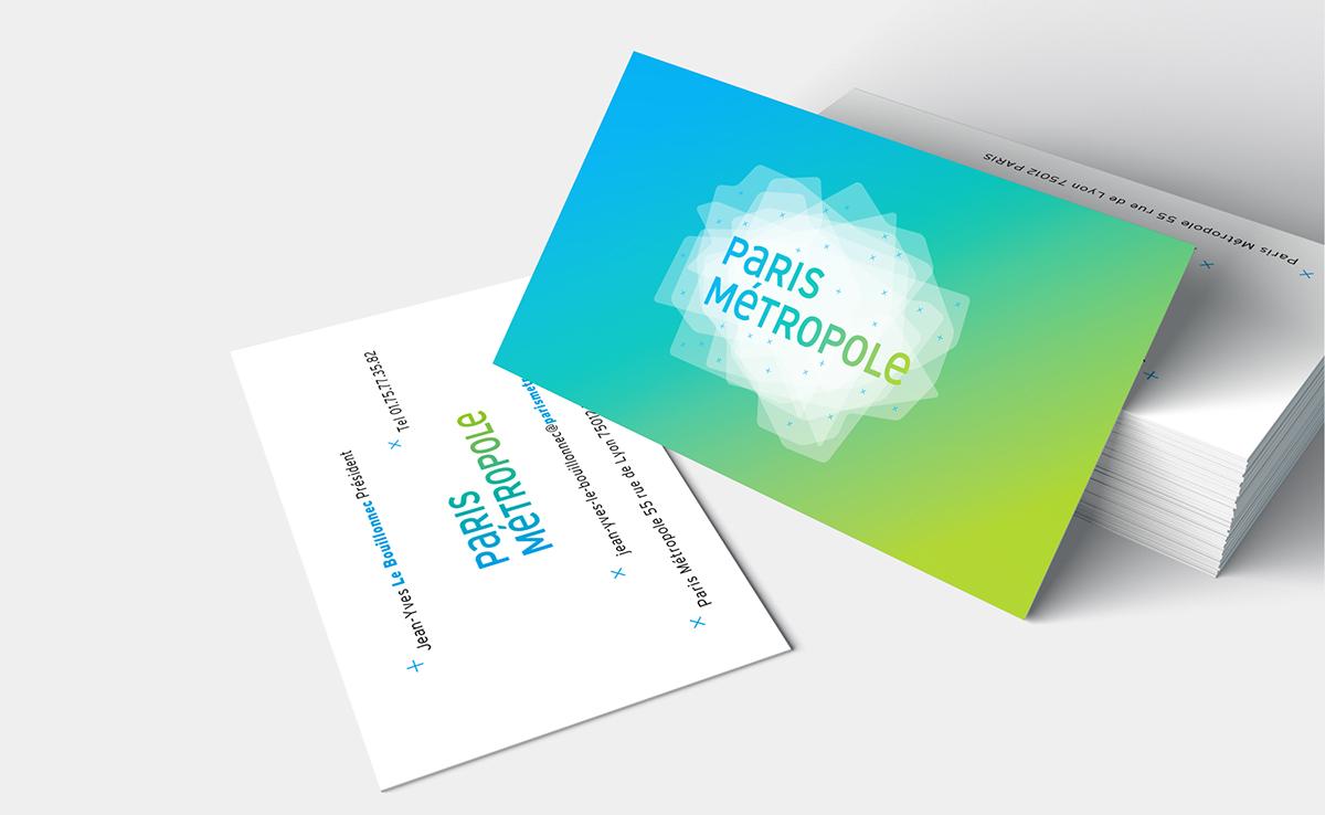 Paris Cities metropolitan grand paris collectivité territorial identité visuelle Logotype map cartography custom font