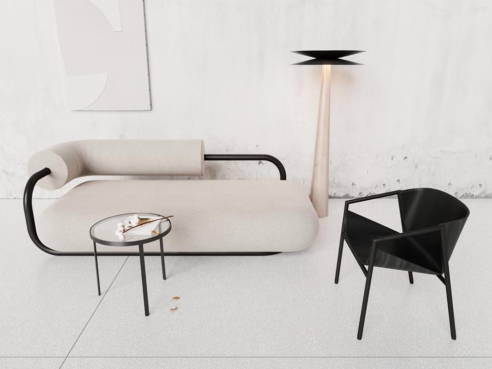 Magnificent Rura Sofa On Behance Bralicious Painted Fabric Chair Ideas Braliciousco