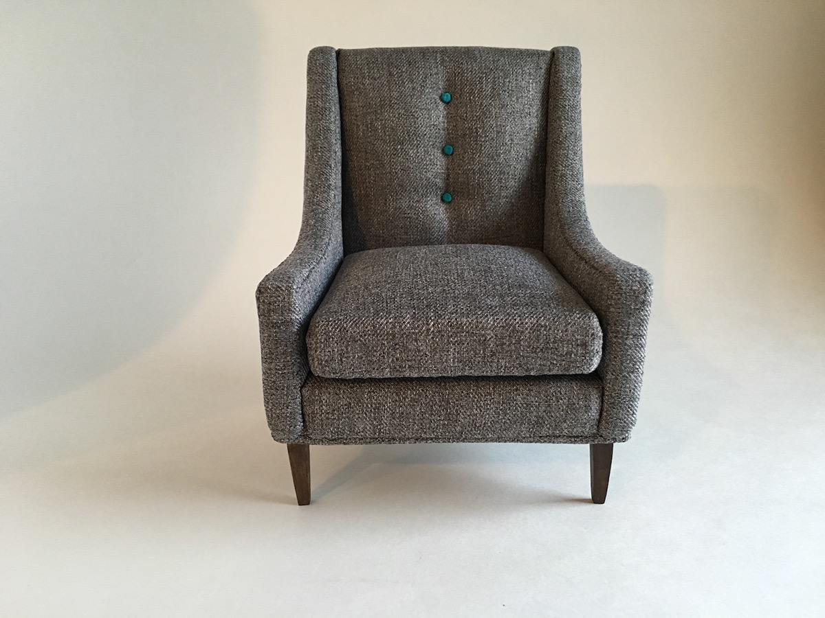 Grey Harris Swoop Arm Chair 1:6 Scale On Behance