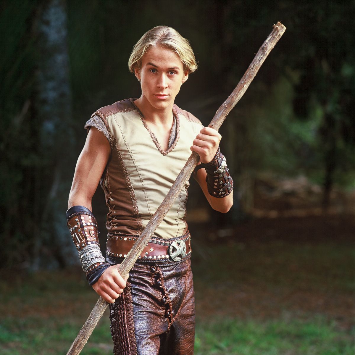 Ryan Gosling as Young Hercules, 1999.