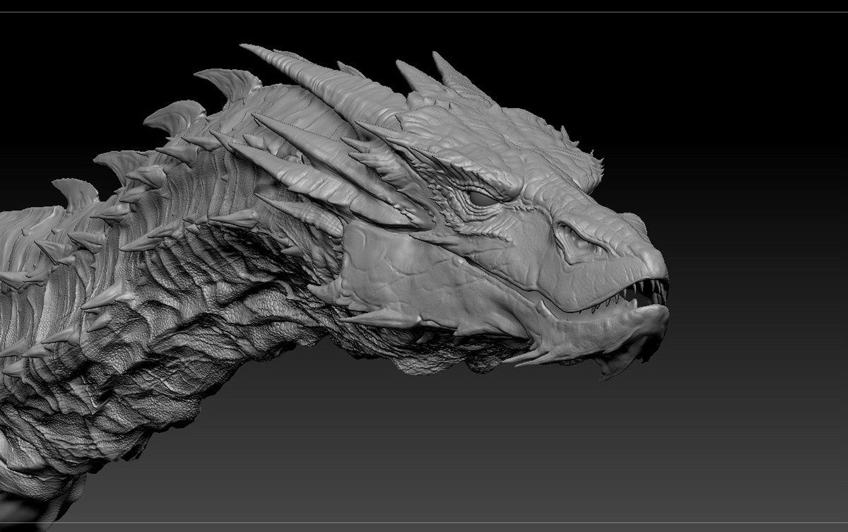 how to make a 3d dragon model