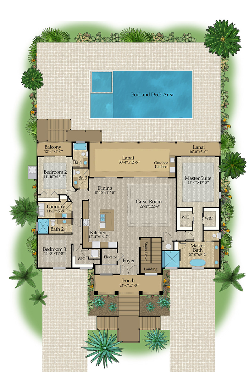 Color Floor Plan and Brochure Samples on Behance