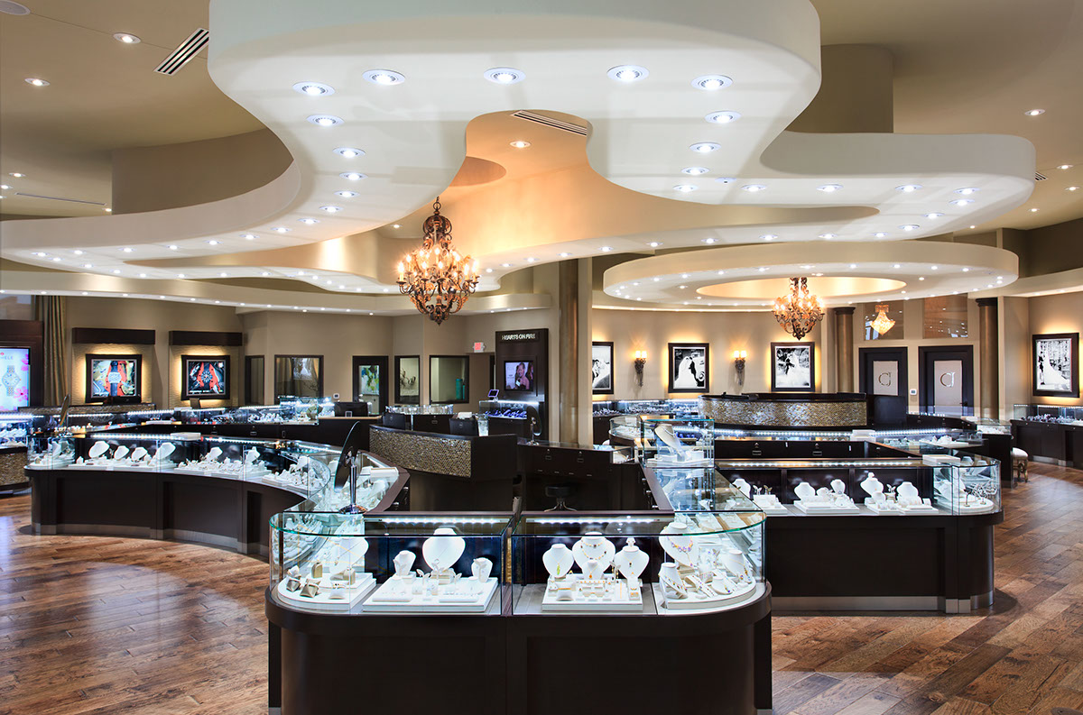 s jewelry store interior design award winning crocker s jewelry tx on 2626