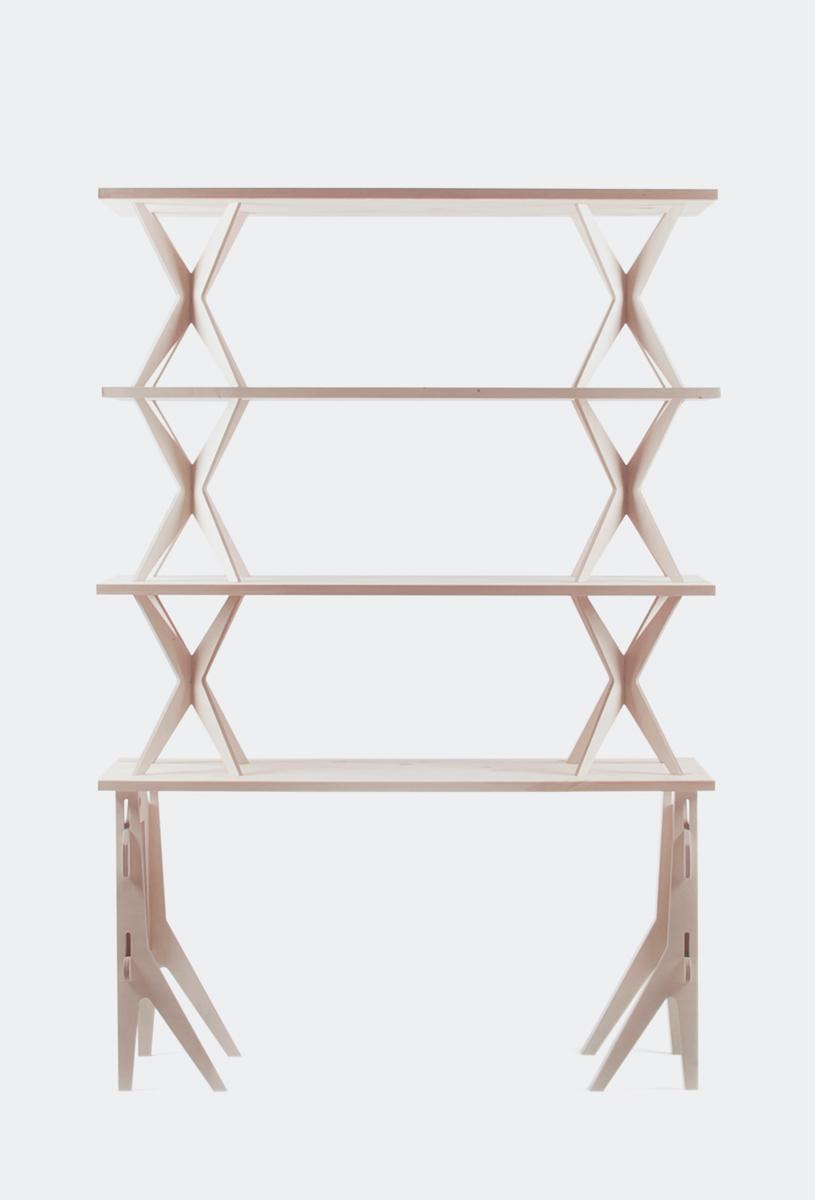 Shelving modular furniture