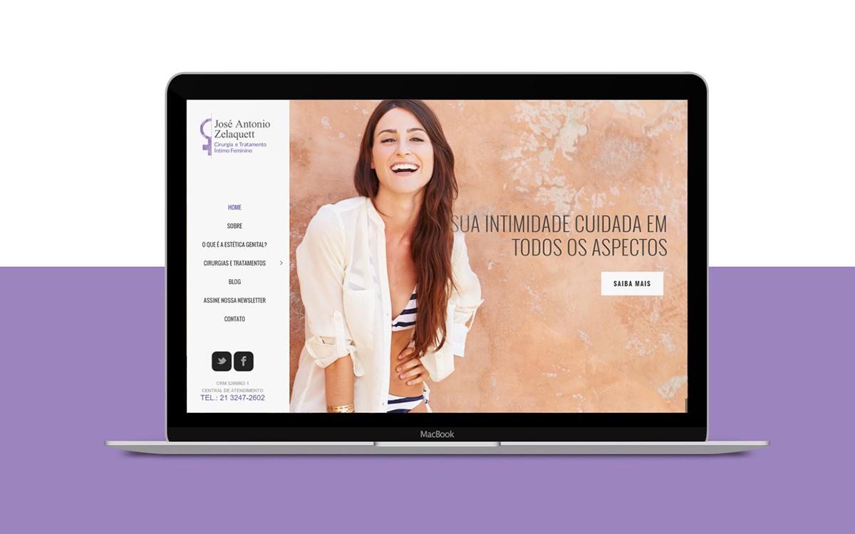 site posicionamento estética feminina