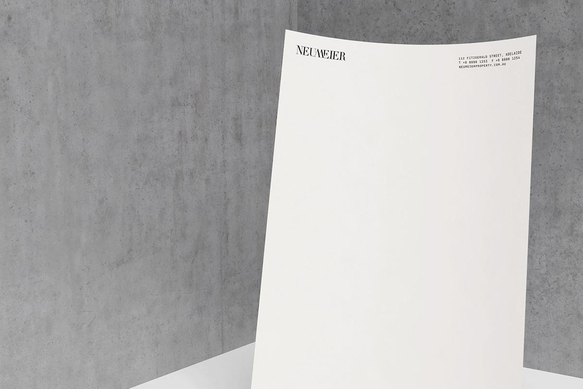 Stationery brand identity branding  Logo Design typography   architecture Brand Design graphic design  logo print design