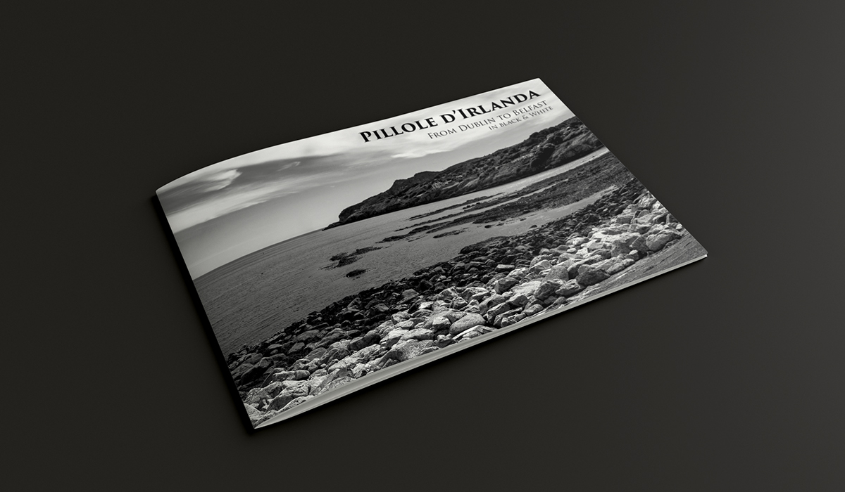 graphic irish Irland Photography  Black&white black White brochure Landsacpe A4