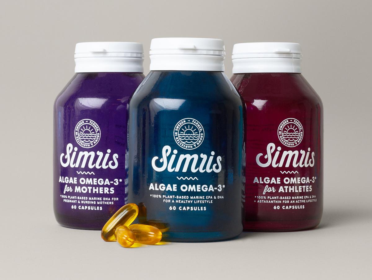 algae Sun sea stationary Script bottle waves healthcare Pouches