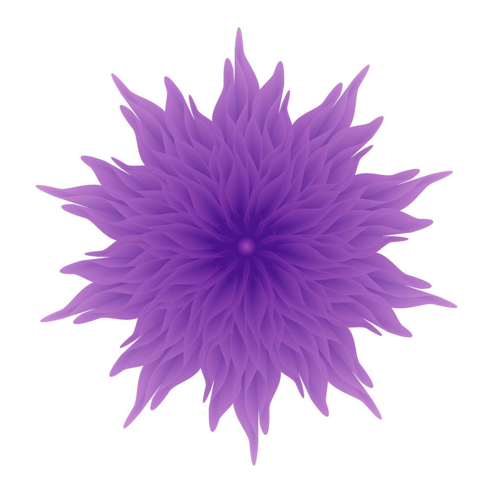 adobe Illustrator design graphic fine art flower blend digital art 4K