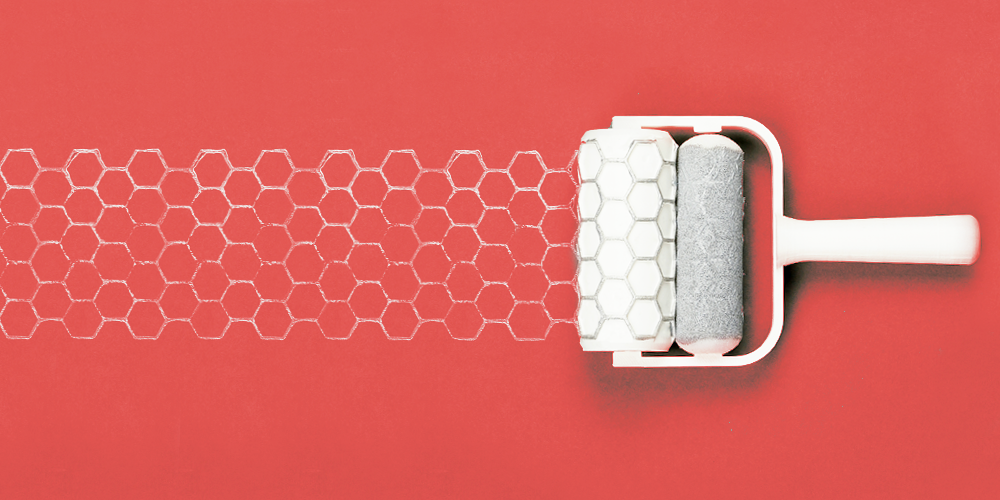 Patterned Paint Roller patterned paint rollers on behance