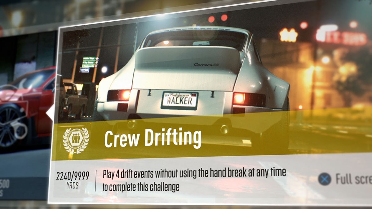 game Need For Speed ux UI