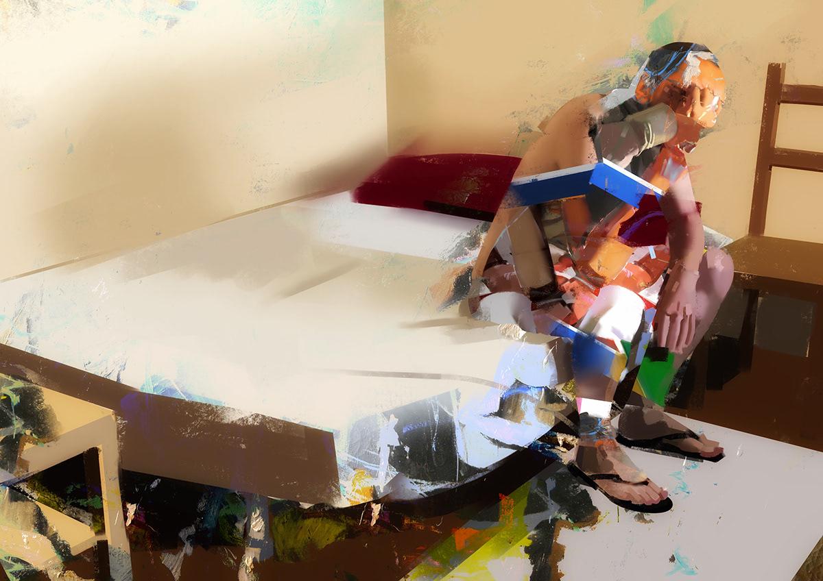 Digital Art ,Digital Paintings,Figurativ,Realism