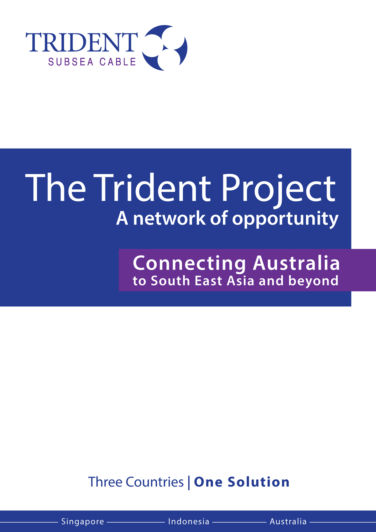 Malcolm Davies - Brochure - The Trident Project
