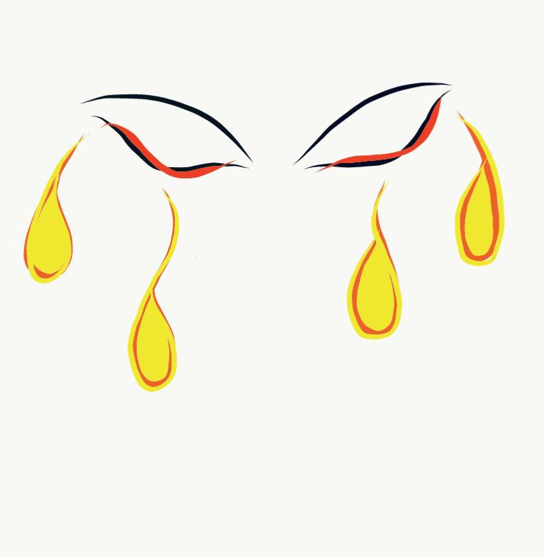 Cry empathy empatia lagrima lagrimas llorar ojo ojos tears adobe draw MINIMALISMO DIGITAL Sensibilidad