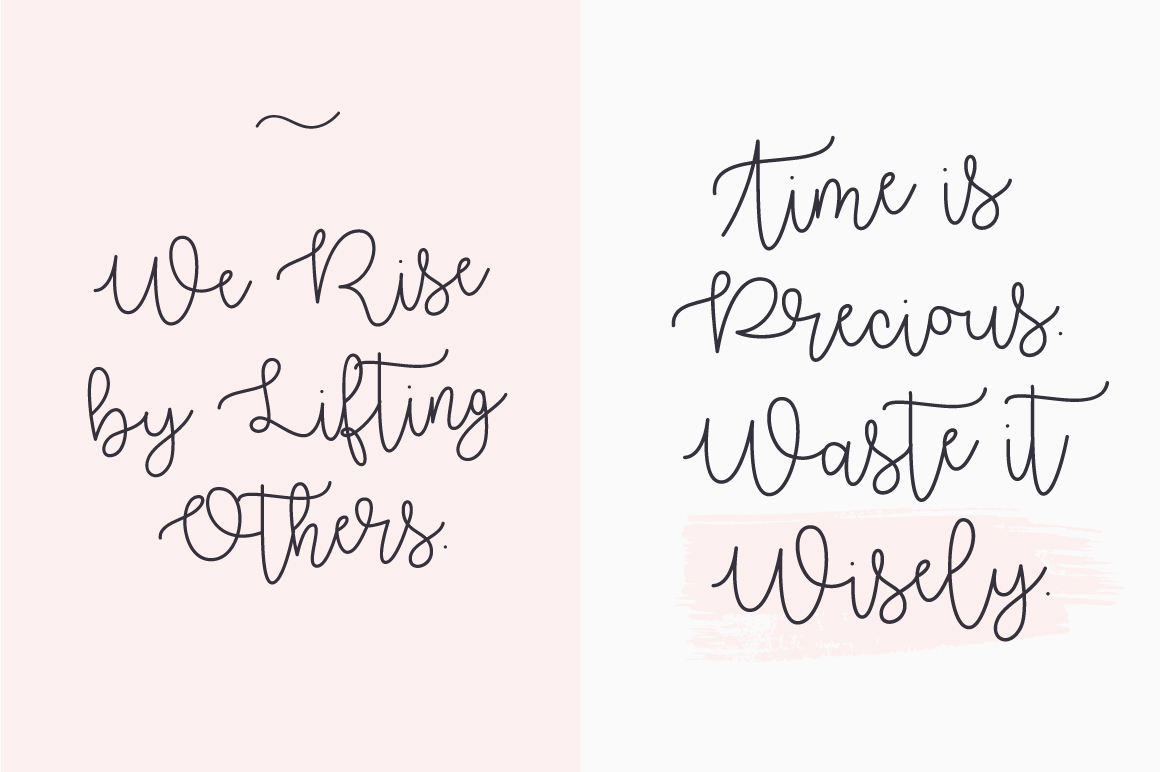 free freebie Script font Typeface lovely girly brand typography   Calligraphy