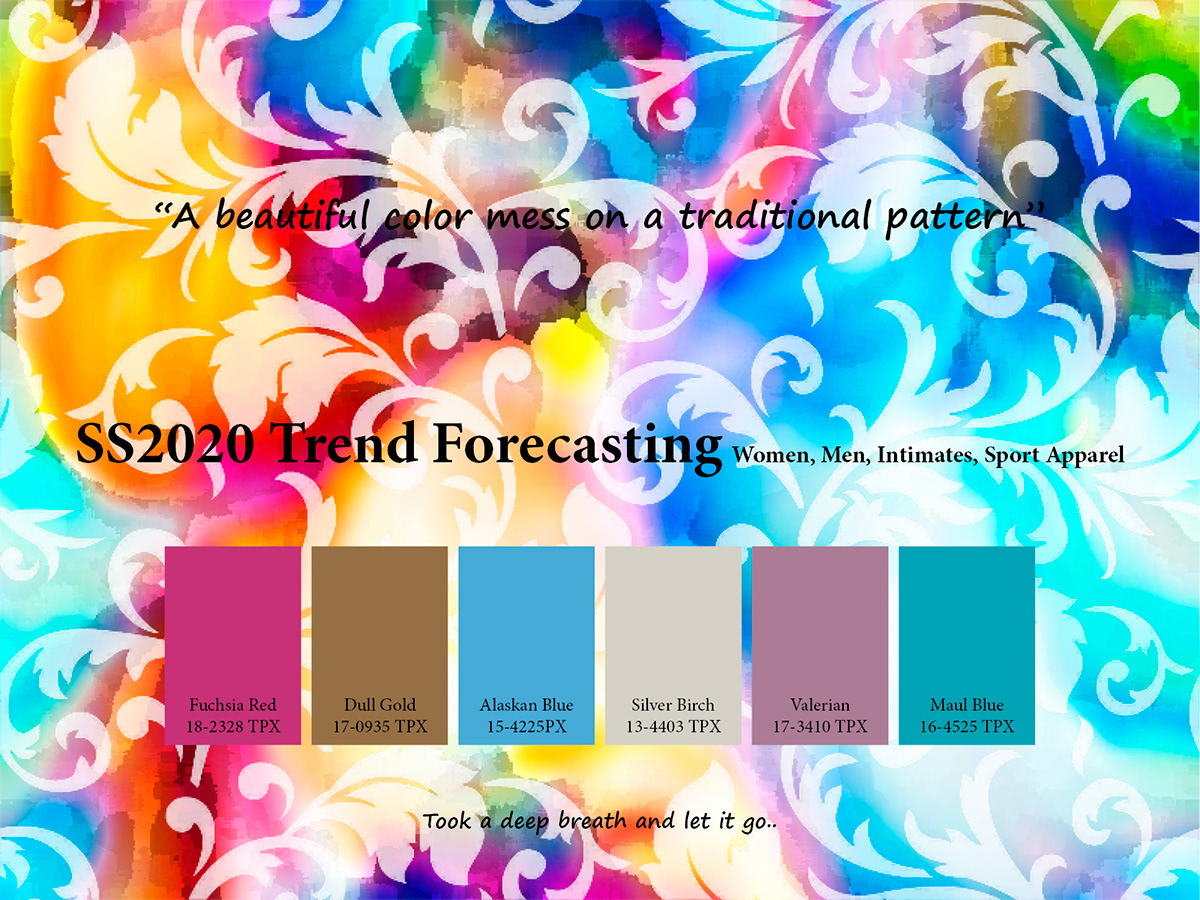 SS2020 Trend forecasting on Pantone Canvas Gallery