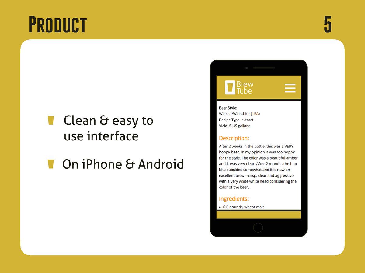 Full Sail GRDBS DPU AUG2017 Beer App homebrew beer app design pitch deck