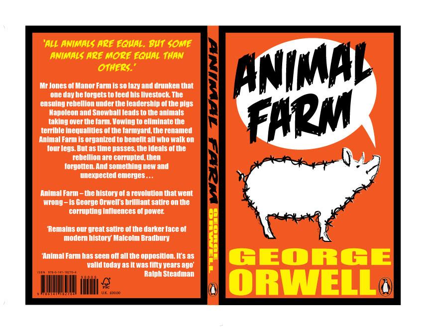 Animal Farm Book Cover On Behance