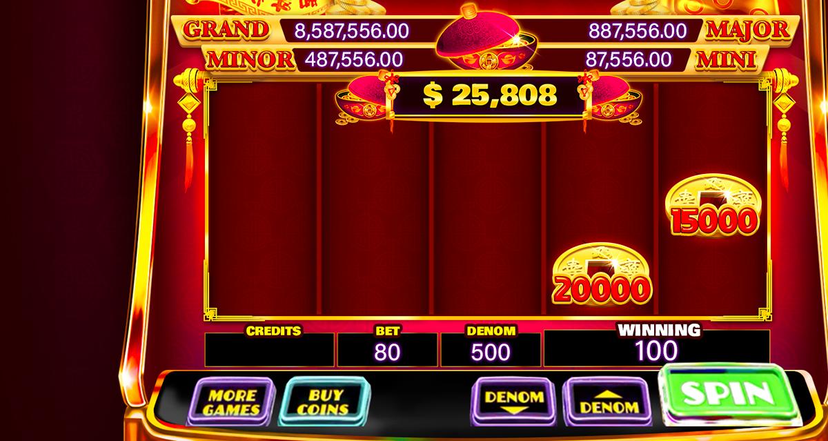888 Fortune Slot Machine On Behance