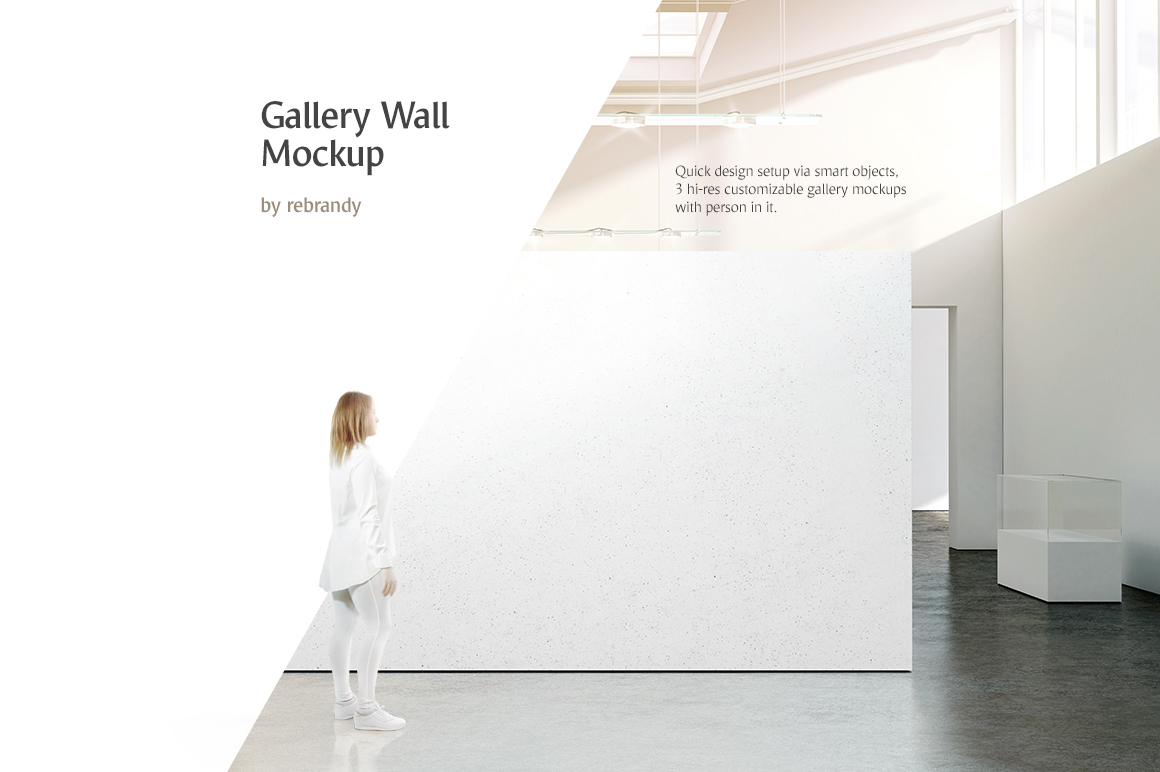 Exhibition Stand Psd Mockup : Gallery wall mockup on behance