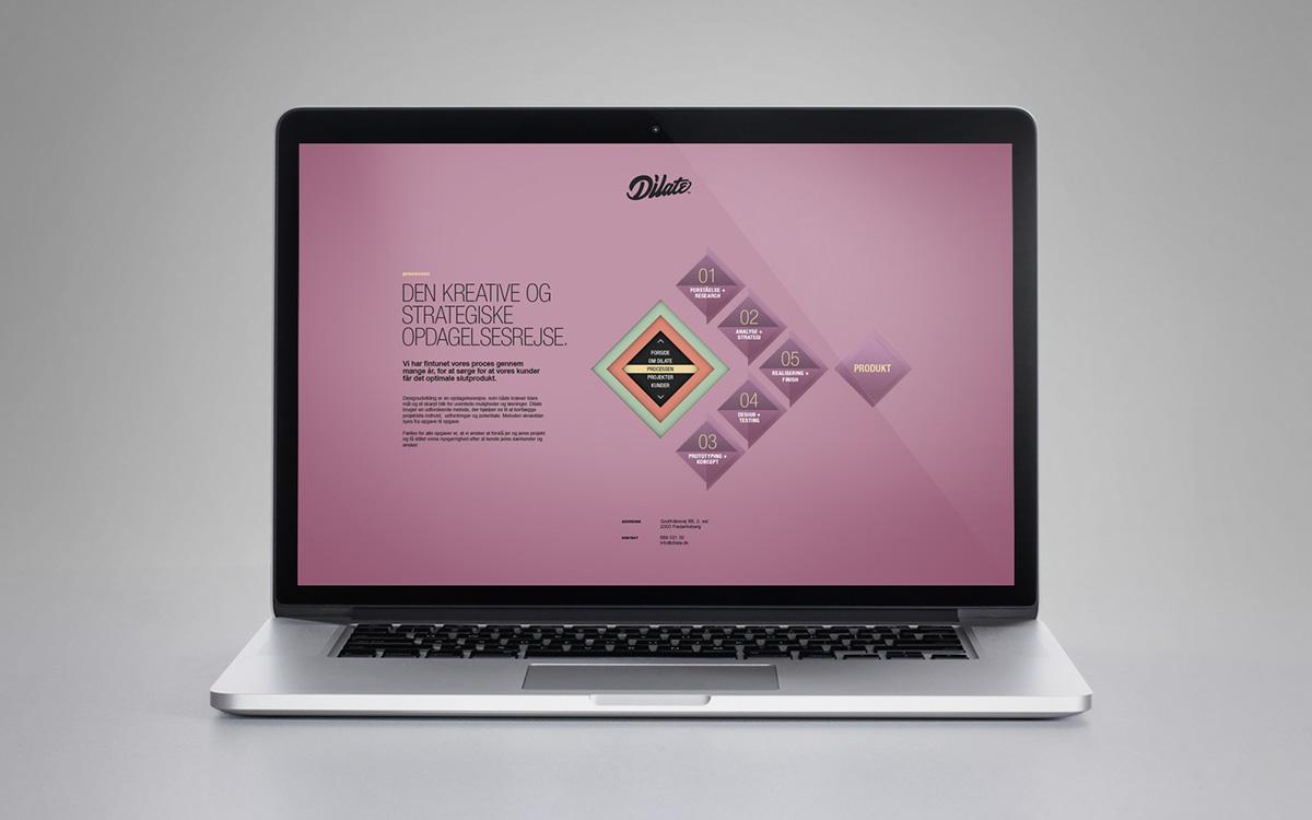 Webdesign studio Web digital interaction conceptual concept design package agency