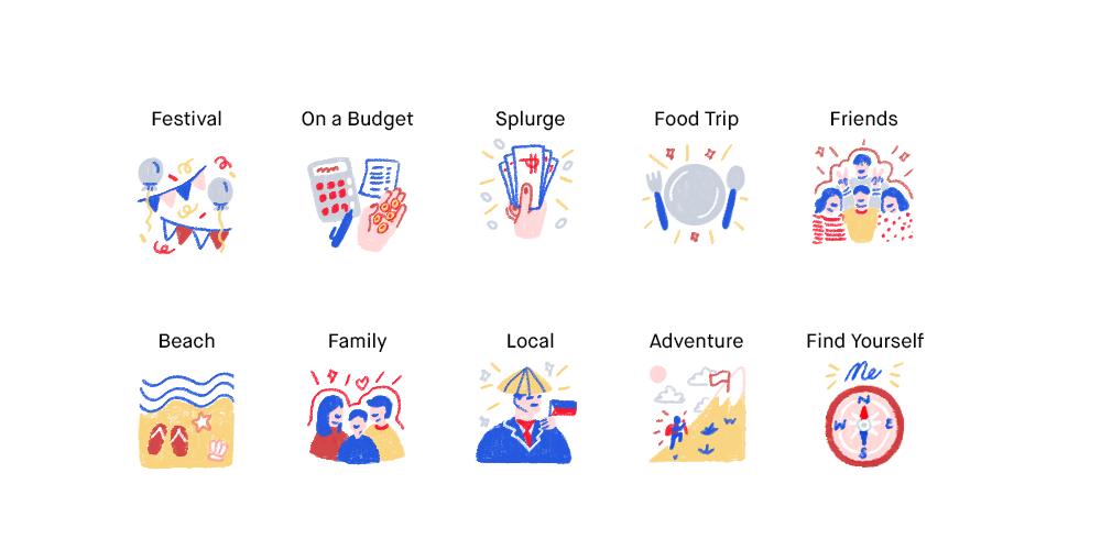 Travel travel agency trips la guia ILLUSTRATION
