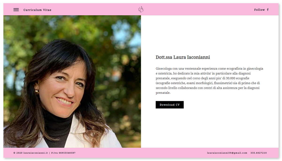 GYNECOLOGIST Web Design  Website
