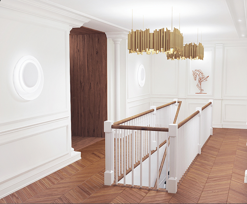 stair design of duplex apartment 2014 15 on behance