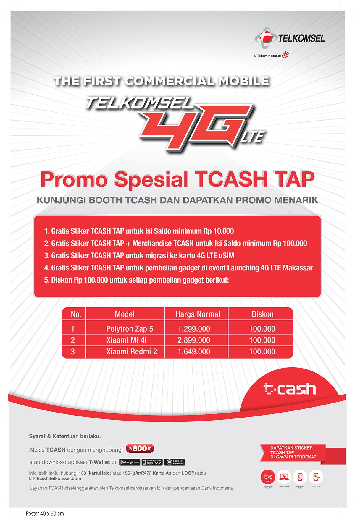 TCASH Telkomsel Project on Behance