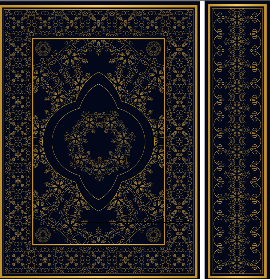 Book Cover Design Arabic ~ The holy quran cover designs free download on behance
