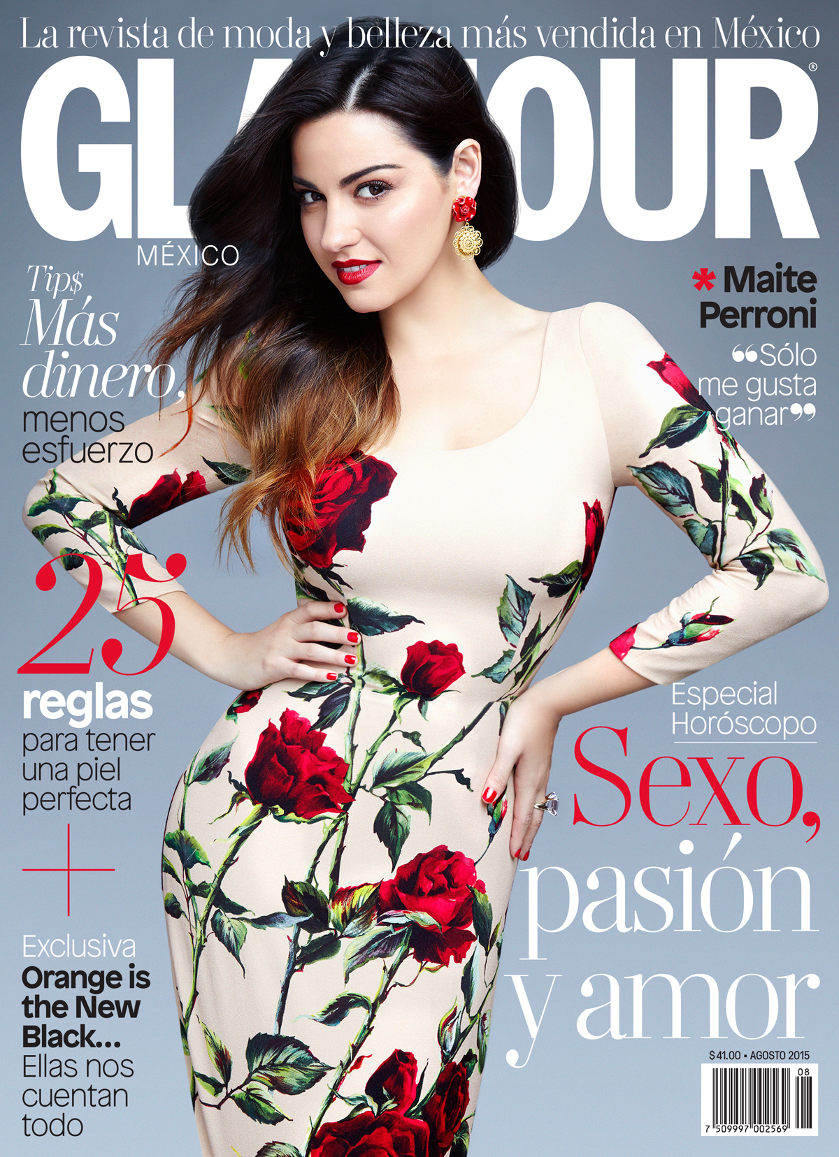 33692d407f GLAMOUR Mexico   Latin America    Maite Perroni on Behance