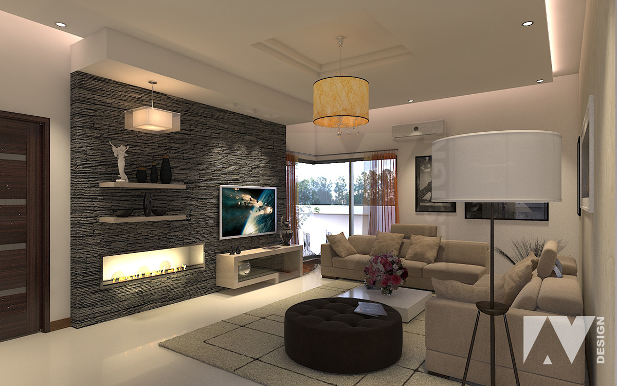 Tv lounge on behance for Interior design images lounge