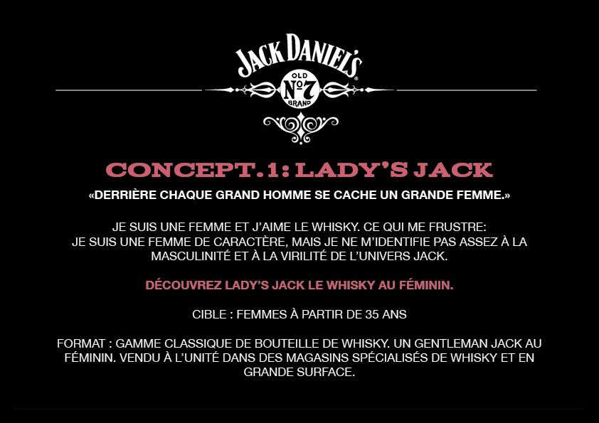 Jack jack daniels ladies Branded Jack