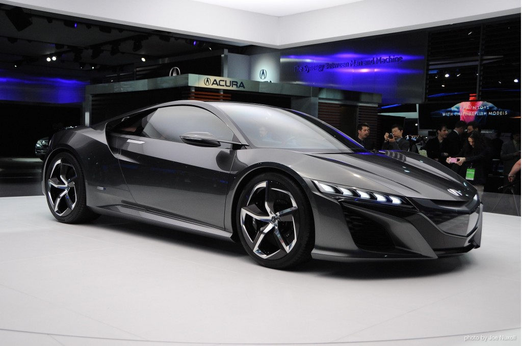 2014 - Acura NSX Concept 2012 B-Class Modeling on Behance