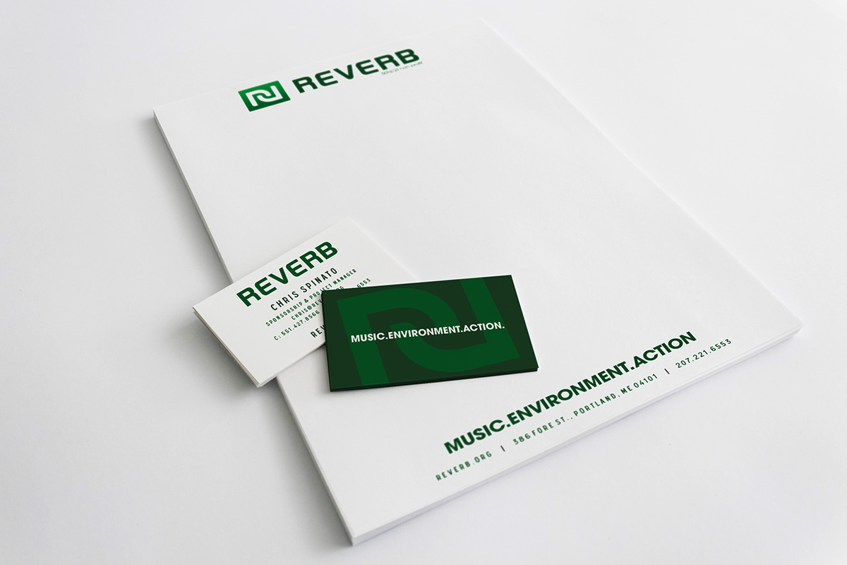 Reverb,non-profit,apparel